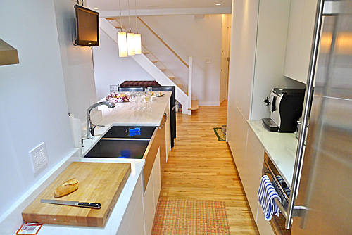 SoHo apartment - Galley 2 - Reclaimed Maple floor