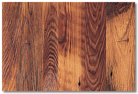 Reclaimed Wood Distressed Chestnut Flooring - Panel