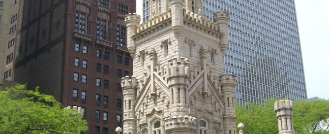 This building survived the Great Chicago Fire