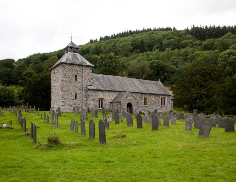 Stone church in Wales