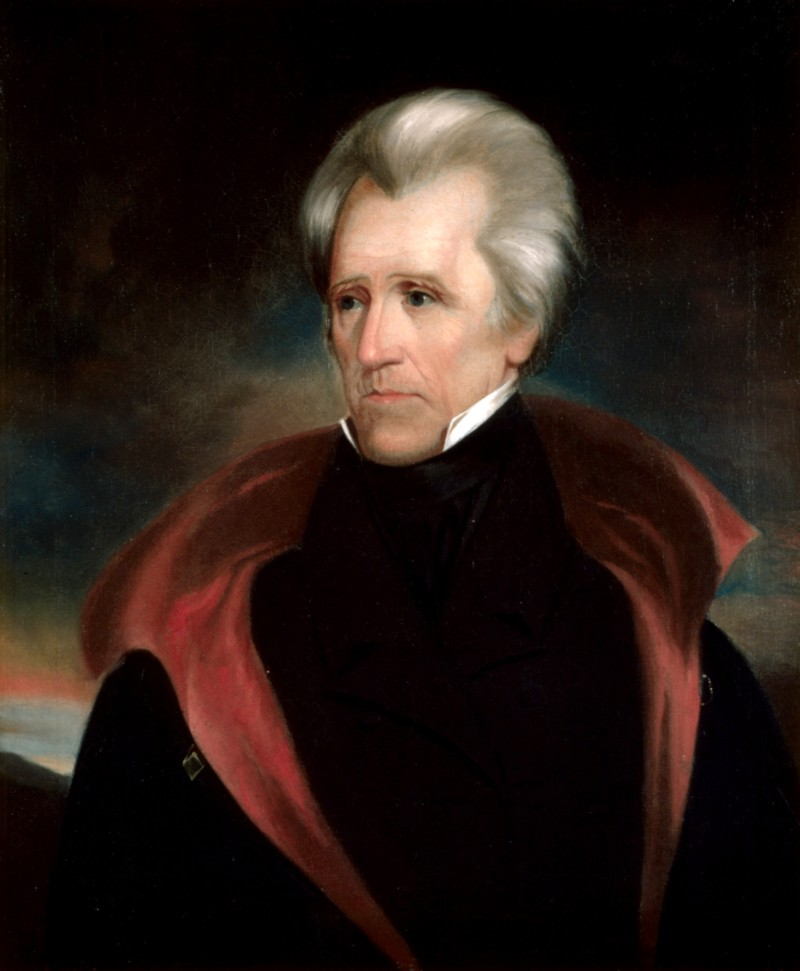 an overview of the personality of andrew jackson 7th president of the united states