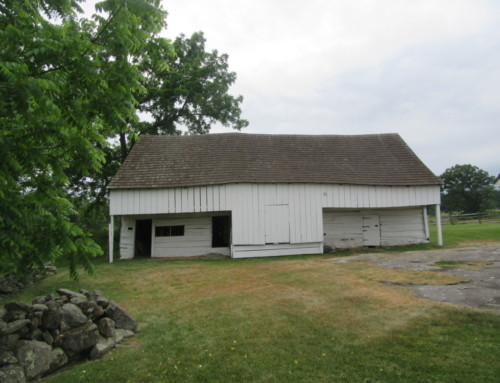 Barns of the Civil War: John Slyder