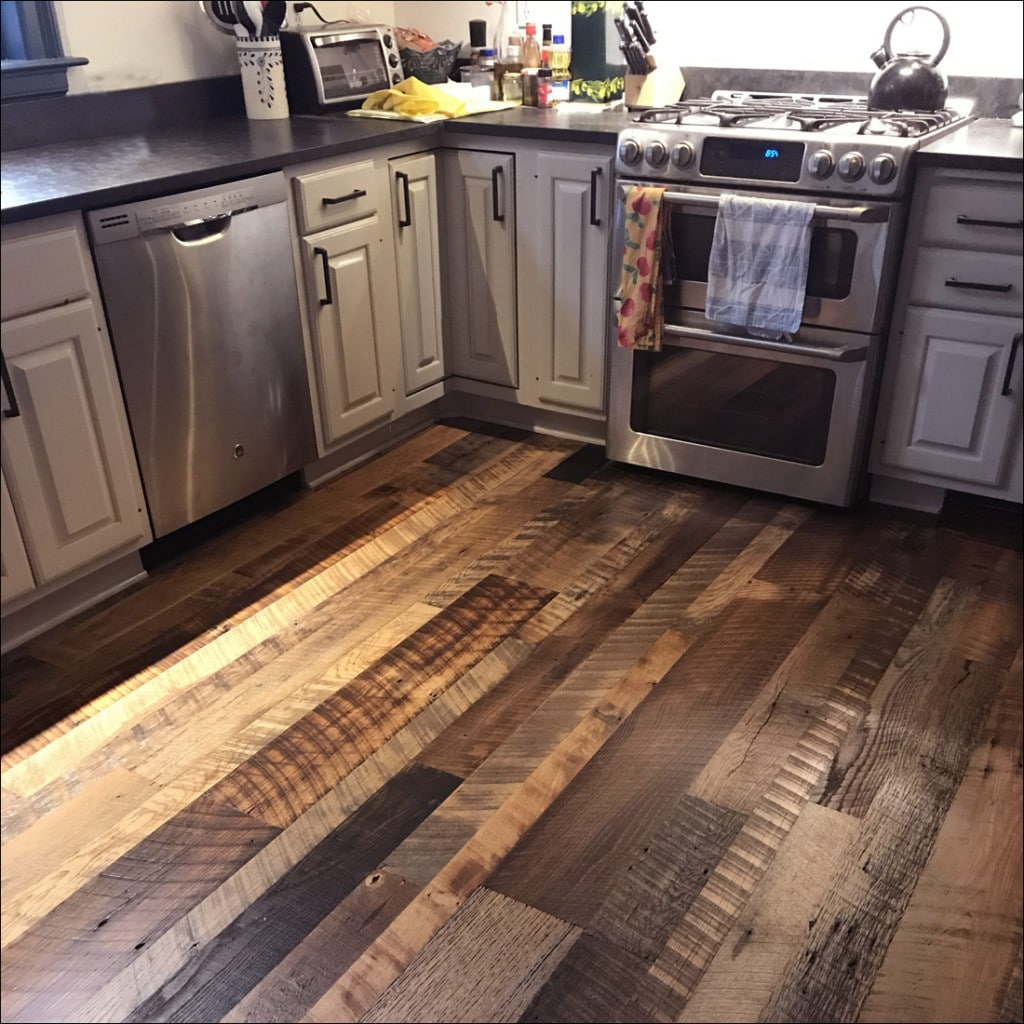 Reclaimed Oak Flooring Skip Planed Hand Towels