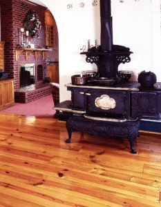 Reclaimed Heartpine Flooring Character Woodstove Owensboro