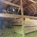 Cantilever Barn in Cade's Cove