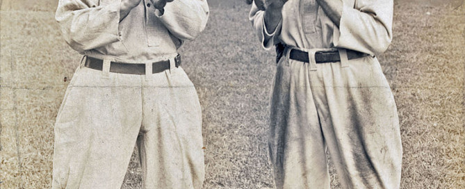 "Ty Cobb and ""Shoeless"" Joe Jackson"