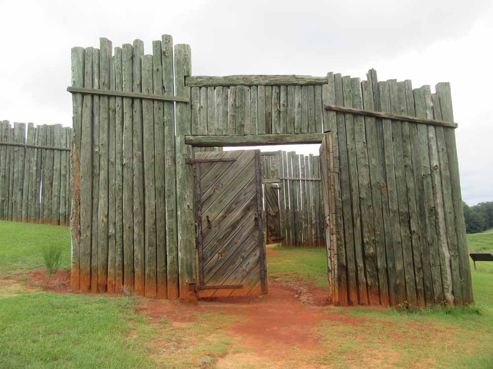 Main Gate at Andersonville