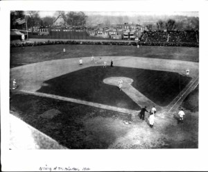 Terrapin Park on Opening Day 1914